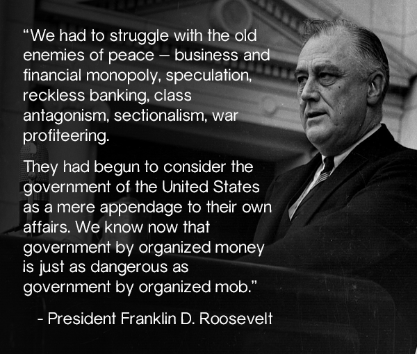 fdr_on_organized_money